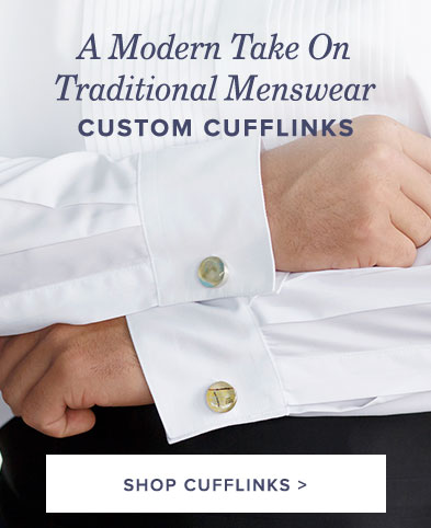 Custom Cufflinks - A Modern Take on Menswear